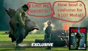 Hulk and Iron Man Scene \