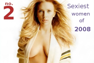 Scarlett Johansson - No. 2 sexiest women of 2008