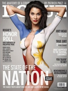 Joey Mead Wears Independence Suit