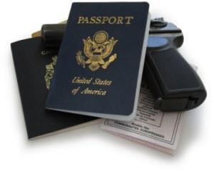 Jason Bourne Passports