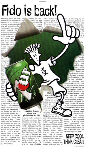 Fido Dido is Back!!!!! November 13, 2008