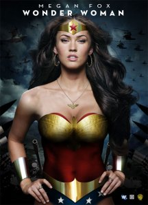 Megan Fox - Wonder Woman Poster