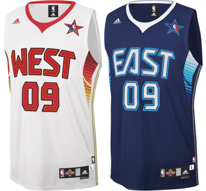 NBA All-Star 2009 Jerseys