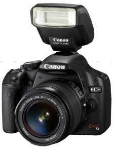 Canon Kiss X3 500d - video recording DSLR