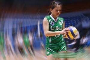 Manila Santos - La Salle Volleyball MVP